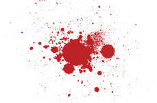 splatter graphic