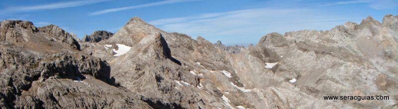 Espolon Rojizo Santa Ana Picos de Europa 1 SERAC COMPAÑÍA DE GUÍAS
