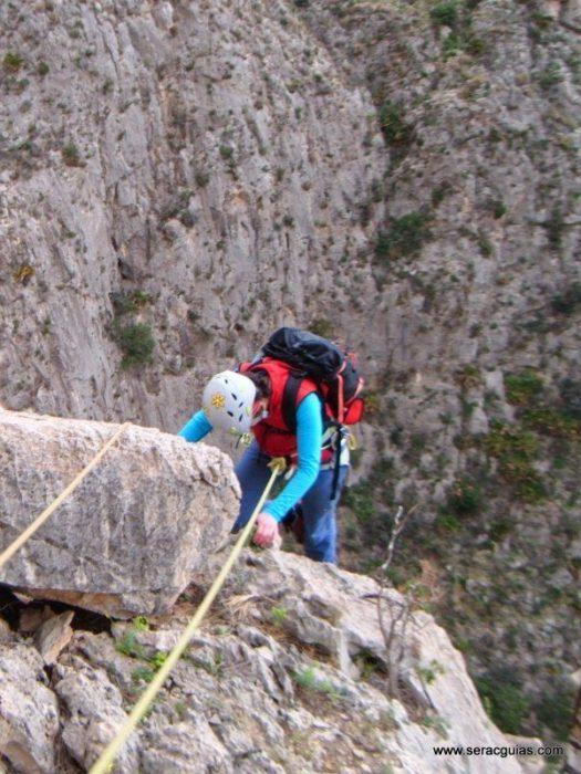 escalada Toix Integral Calpe 1 SERAC COMPAÑÍA DE GUÍAS