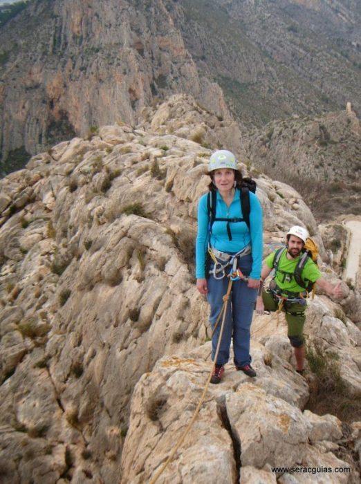 escalada Toix Integral Calpe 9 SERAC COMPAÑÍA DE GUÍAS
