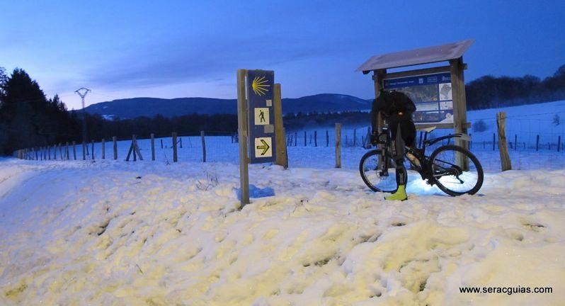 Camino Santiago Frances bici 2 SERAC COMPAÑÍA DE GUÍAS