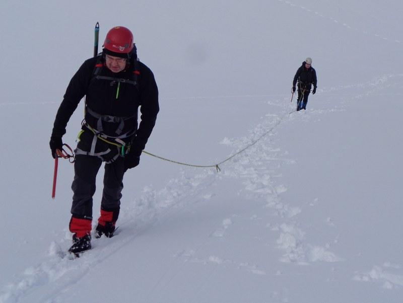 Curso Progresion Autorescate Glaciar 3 SERAC COMPAÑÍA DE GUÍAS