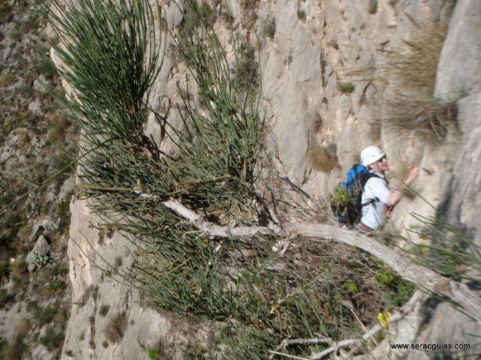 escalada UBSA Mascarat Alicante 4 SERAC COMPAÑÍA DE GUÍAS
