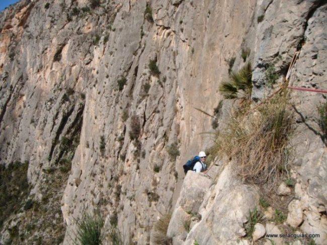 escalada UBSA Mascarat Alicante 5 SERAC COMPAÑÍA DE GUÍAS