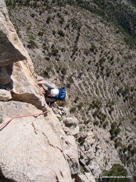 escalada Puig Campana 4 SERAC COMPAÑÍA DE GUÍAS