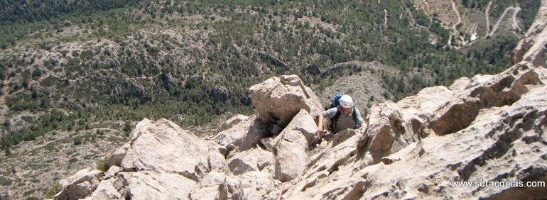 escalada Puig Campana 5 SERAC COMPAÑÍA DE GUÍAS