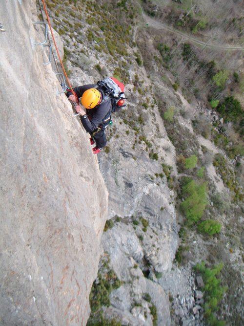 Ferrata Pirineo SERAC COMPAÑÍA DE GUÍAS