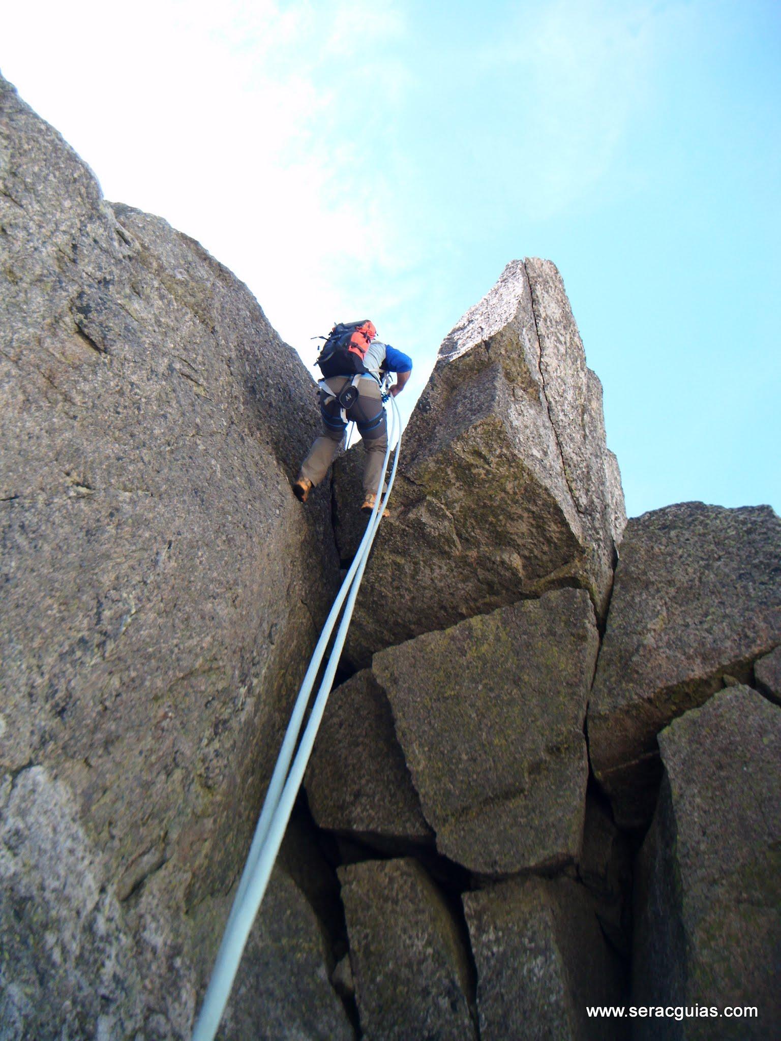 Cresta Basiero Amitges Pirineo 10 SERAC COMPAÑÍA DE GUÍAS