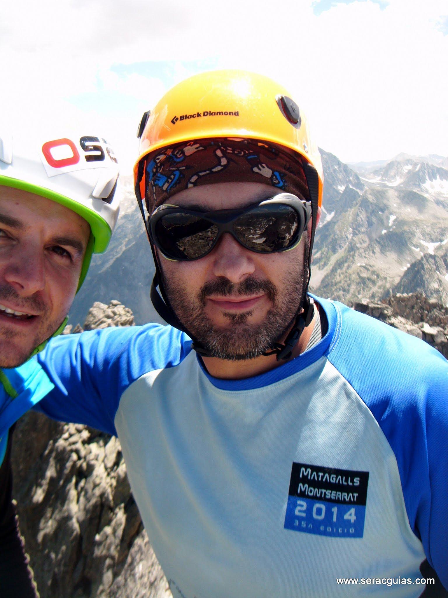 Cresta Basiero Amitges Pirineo 13 SERAC COMPAÑÍA DE GUÍAS