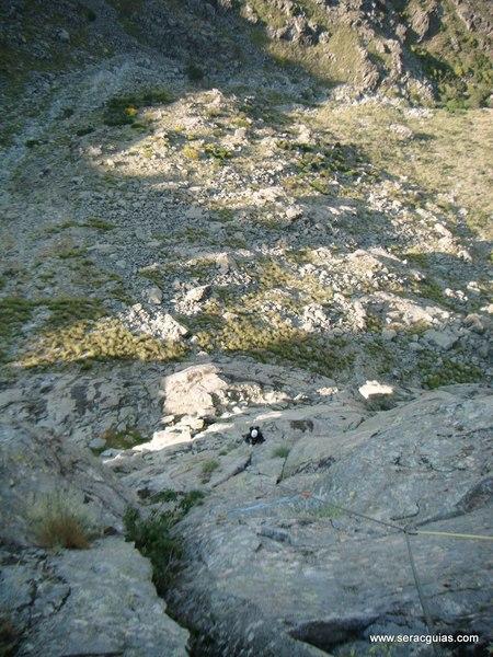 escalada Villarejo Gredos 4 SERAC COMPAÑÍA DE GUÍAS