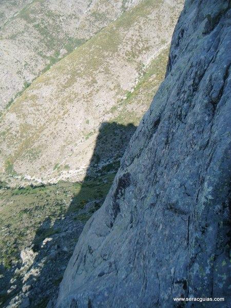 escalada Villarejo Gredos 5 SERAC COMPAÑÍA DE GUÍAS