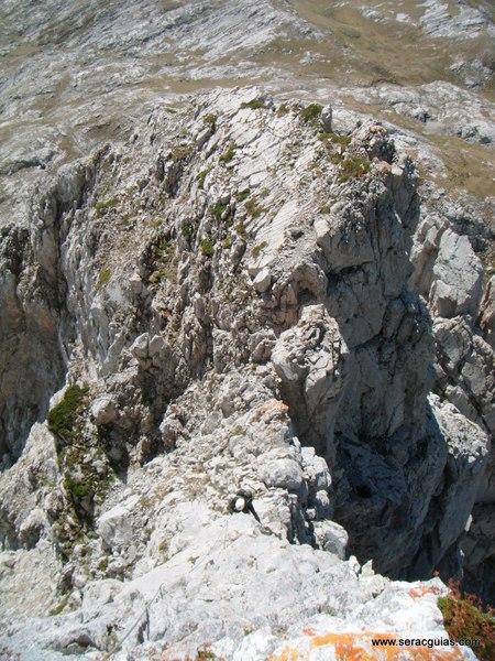 escalada olvidada Picos de Europa SERAC COMPAÑÍA DE GUÍAS