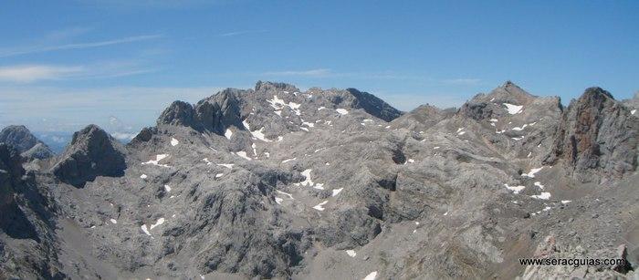 sur macizo central Picos de Europa SERAC COMPAÑÍA DE GUÍAS