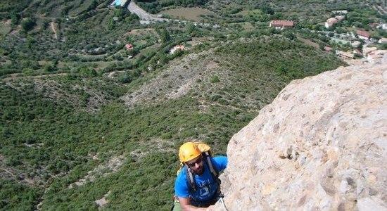 escalada Mallo Colorao Riglos 4 SERAC COMPAÑÍA DE GUÍAS