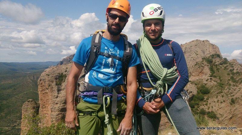 escalada Mallo Colorao Riglos 5 SERAC COMPAÑÍA DE GUÍAS