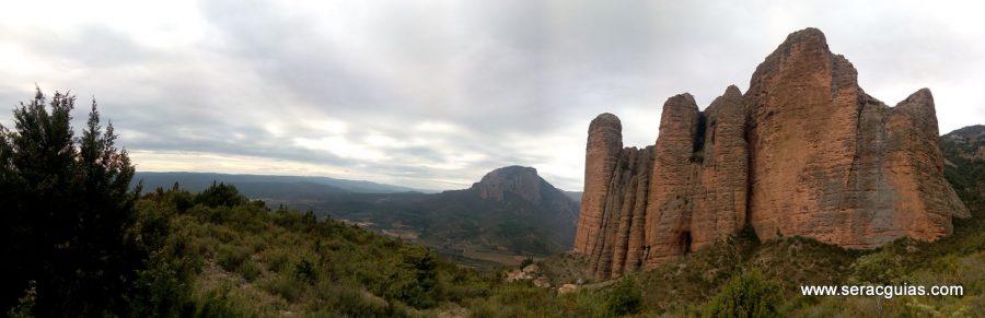 escaladas faciles Riglos 1 SERAC COMPAÑÍA DE GUÍAS