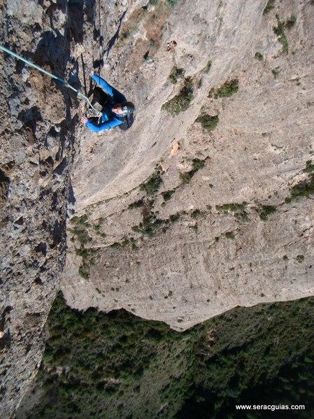 escalada Sendero Limite Rueba 7 SERAC COMPAÑÍA DE GUÍAS