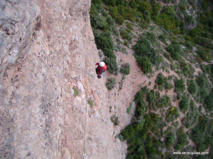 escalada Frechin Riglos 1 SERAC COMPAÑÍA DE GUÍAS