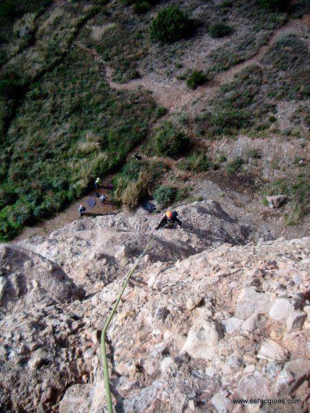 escalada adamelo pison riglos 1 SERAC COMPAÑÍA DE GUÍAS