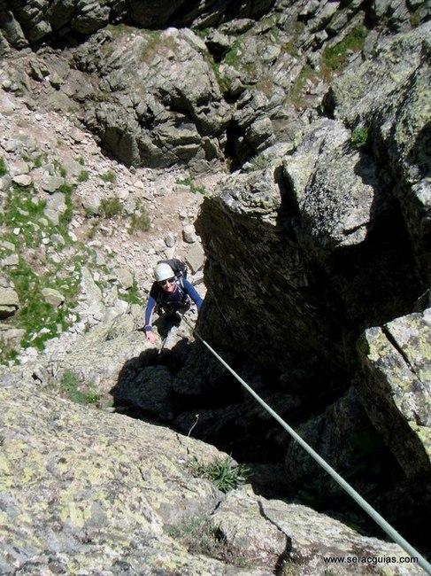 escalada 2 Alta Ruta Maliciosa Guadarrama Madrid SERAC COMPAÑÍA DE GUÍAS
