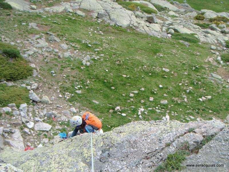 escalada 5 Peñalara Sierra de Guadarrama Madrid SERAC COMPAÑÍA DE GUÍAS