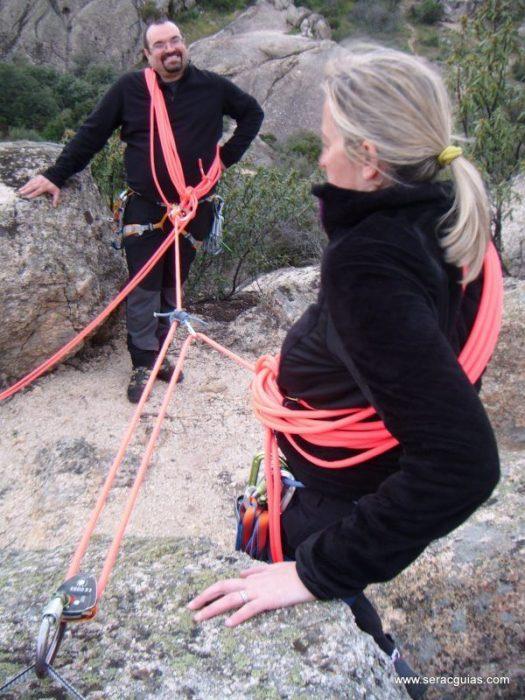 curso alpinismo 25 SERAC COMPAÑÍA DE GUÍAS