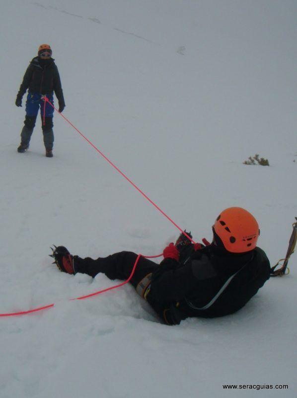 curso alpinismo 27 SERAC COMPAÑÍA DE GUÍAS