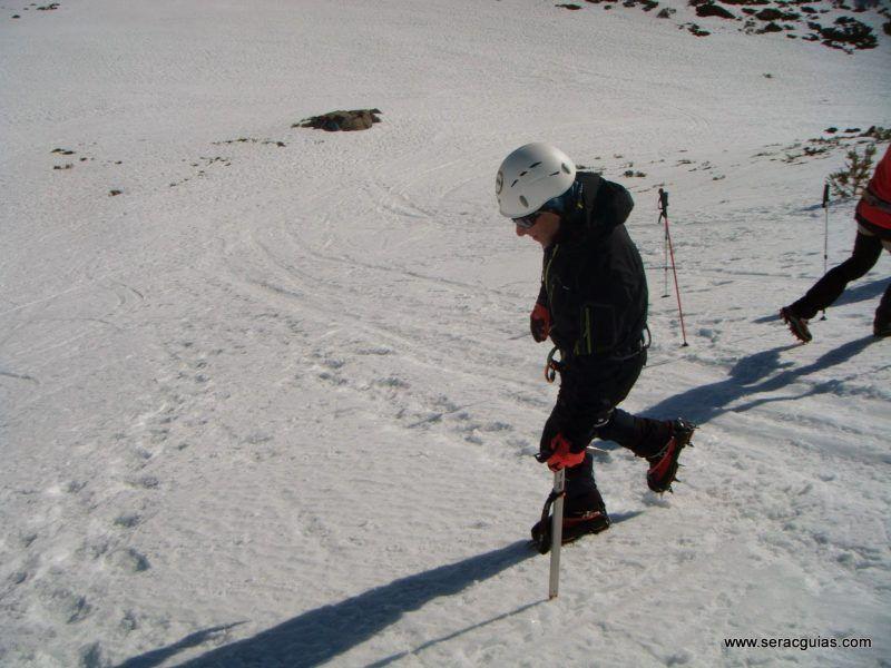 curso alpinismo 3 SERAC COMPAÑÍA DE GUÍAS
