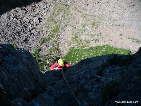 Pirineos frontera Estremere 1 Valle Tena Pirineo SERAC COMPAÑÍA DE GUÍAS