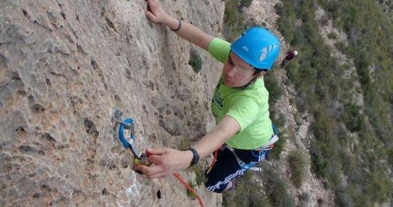 escalada guiado cuerda SERAC COMPAÑÍA DE GUÍAS