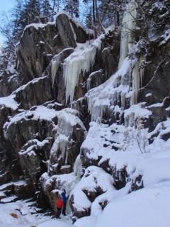 escalada hielo mixta Rjukan Noruega SERAC COMPAÑÍA DE GUÍAS