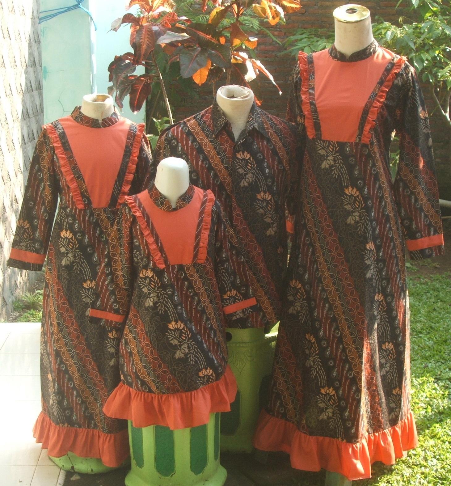 batik jatim  Seragam Keluarga
