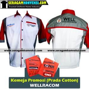 bikin seragam kemeja kantor, perusahaan, organisasi murah kirim ke Alor