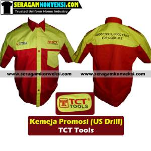 pesan grosir seragam kerja desain sendiri (custom) murah kirim ke Kalimantan Tengah