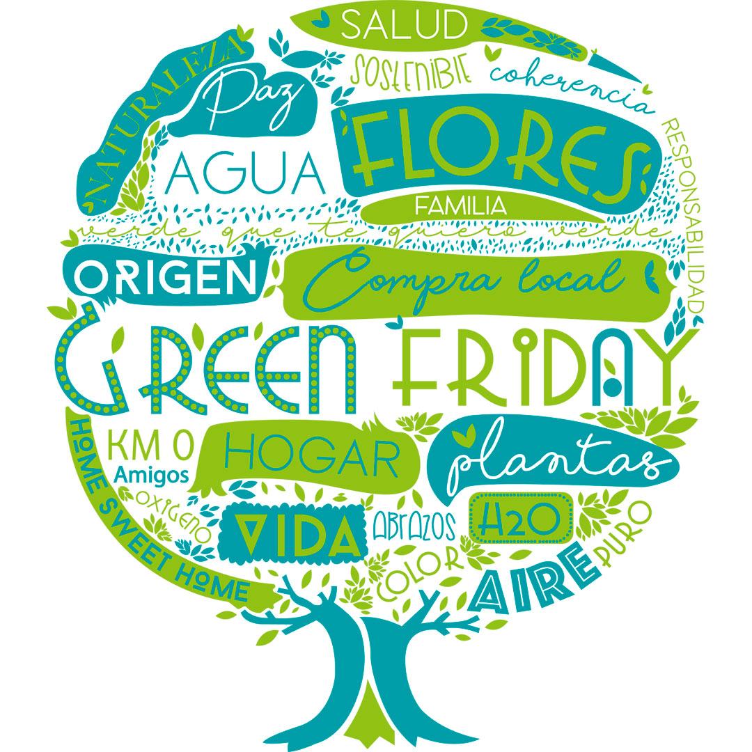 Green Friday arbol