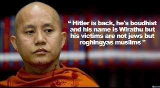 Ashin Wiratuhu Fitnah Umat Islam Rohingya Pemerkosa Wanita Myanmar