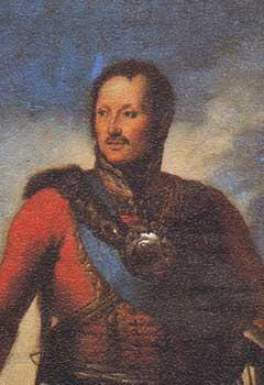 Генерал-фельдмаршал князь П.Х.Витгенштейн. Копия с портрета работы Д.Доу. 1820-гг.
