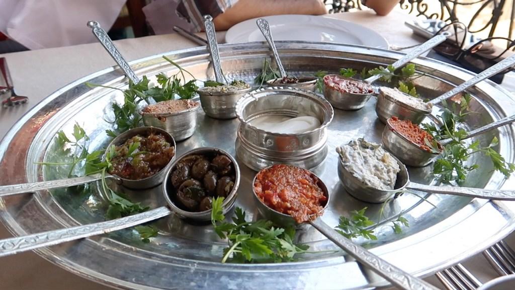 cercis murat konağı meze tabağı