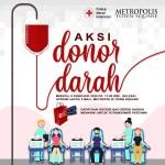 Aksi Donor Darah Metropolis Town Square