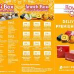 BROSUR A4 Royal Snack Box Dengan Harga Halaman 1
