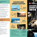 Brosur Go Explore Green Canyon Depan