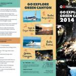Brosur Go Explore Green Canyon Depan