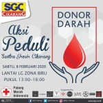 Sentra Grosir Cikarang, Donor Darah