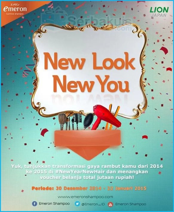 Kontes #NewYearNewHair - New Look New You