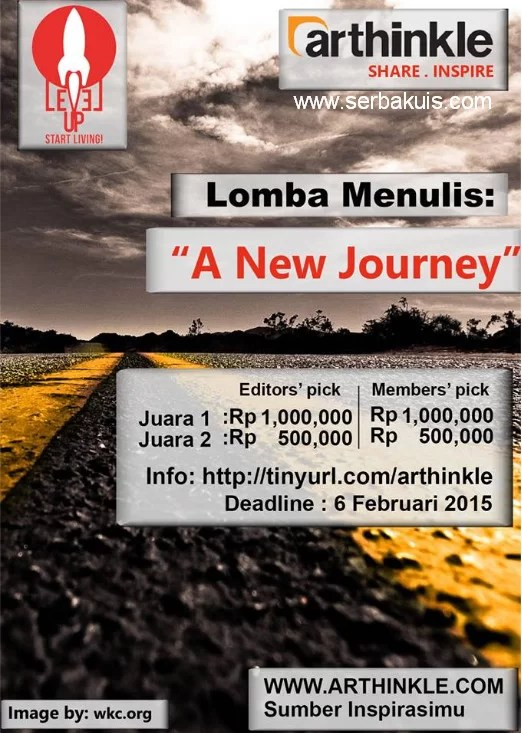 Kontes Menulis A New Journey