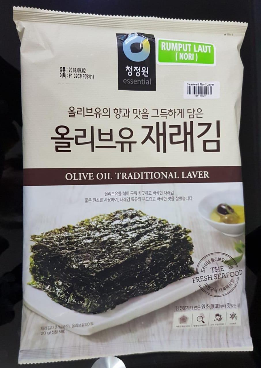jual seaweed nori laver