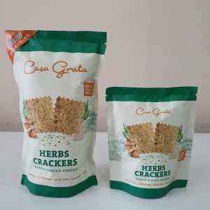 Herb Crackers