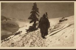 Остаци српске армије током повлачења у Албанији