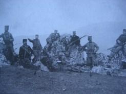 Војници Гвозденог пука на солунском ратишту