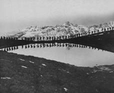 Српска армија током рата у повлачењу кроз Албанију